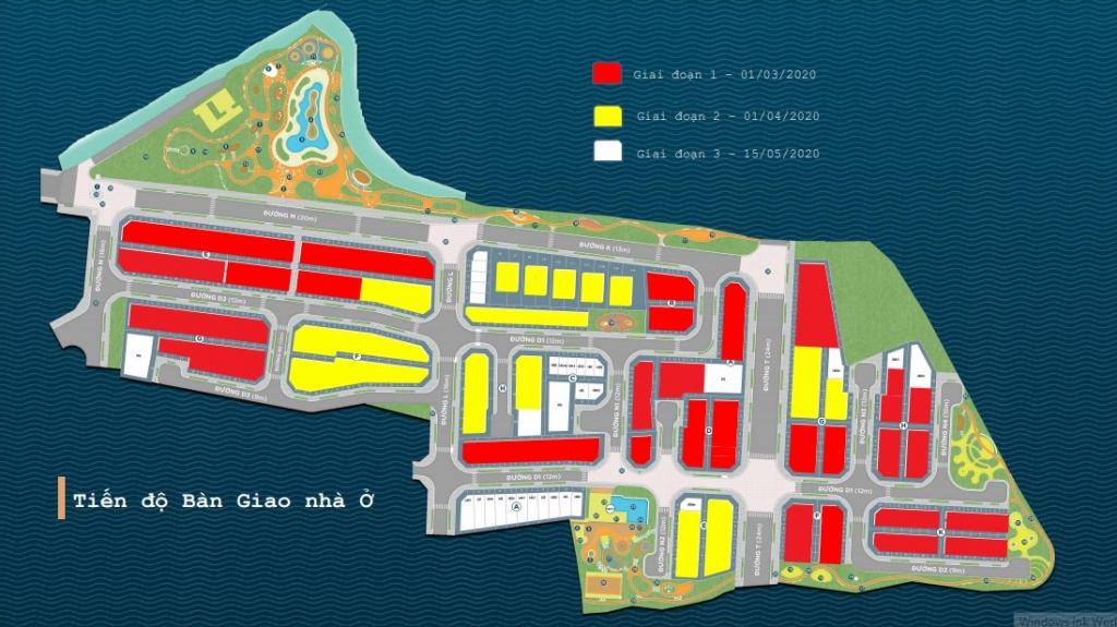 mặt bằng Dự Án Verosa Khang Điền Quận 9